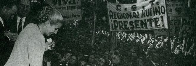 60° Aniversario del fallecimiento de Eva Perón