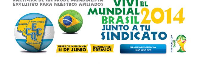 PRONOSTICO MERCANTIL ONLINE CECQ BRASIL 2014: TABLA DE POSICIONES