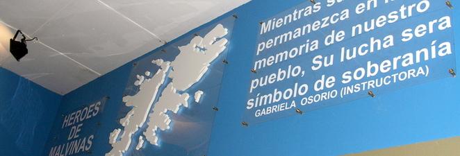 Patio «Héroes de Malvinas»: Un compromiso con Nuestros Compatriotas