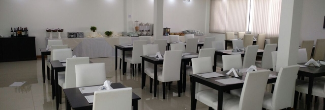 Turismo: El comedor del Hotel los fuegos renovado por completo