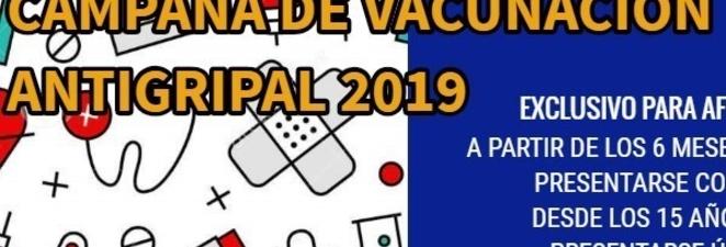 Campaña de Vacunación Antigripal 2019