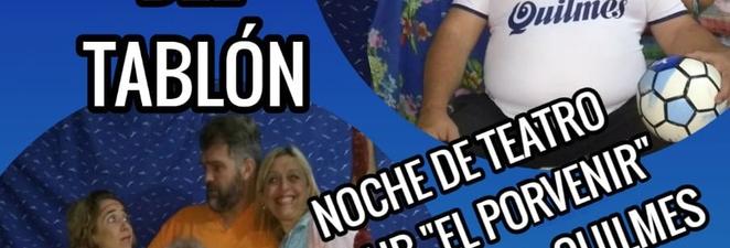 EL HOMBRE DEL TABLÓN EN EL CLUB «EL PORVENIR»