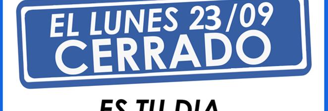Día del Empleado de Comercio – Lunes 23/09: NO SE TRABAJA